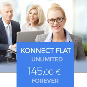 KONNECT-FLAT UNLIMITED FOREVER