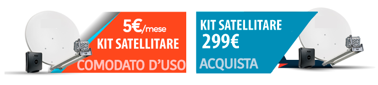 KIT SATELLITARE